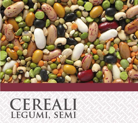 Cereali, Legumi, Semi T&G